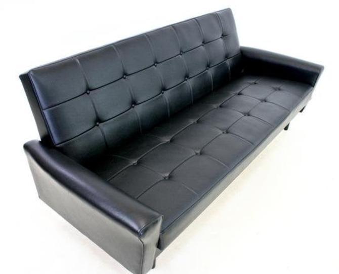Mid Century Sofa Bed by Heals of London by SputnikFurnitureLLC