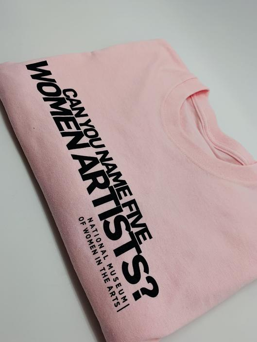 #5WomenArtists T-Shirt Pale Pink