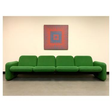 (SOLD) 1970s Chiclet Sofa by Ray Wilkes for Herman Miller