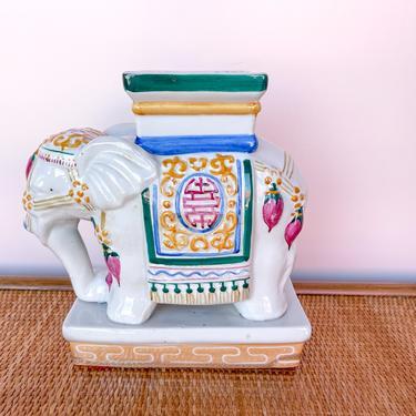 Petite Elephant Garden Stool