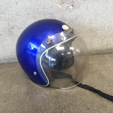 Vintage Motorcycle Helmet by Grant