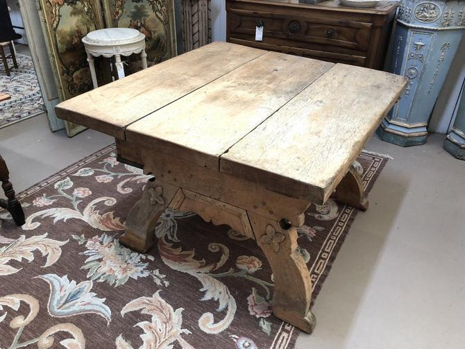Antique Swiss Butcher's Table | Kitchen Island | Bar | Dining Table