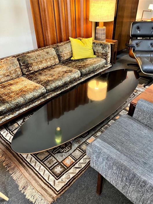 Eames ETR/Surfboard Table