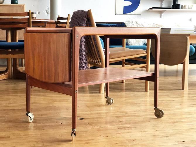 Danish Teak Bar / Tea Cart
