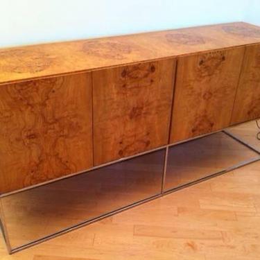 Mid-century Modern Burl Wood Credenza Buffet by Milo Baughman Thayer Coggin by DanishGarage