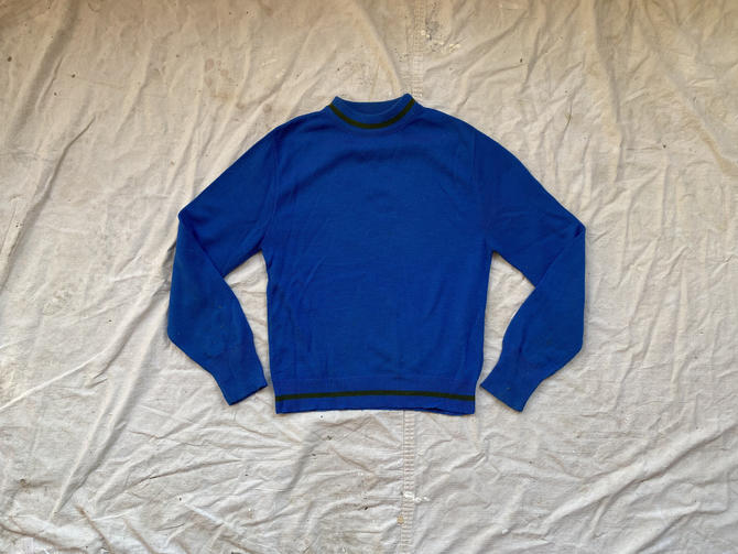 Vintage 70s Robert Bruce Made in USA Crewneck Sweater by NorthGroveAntiques