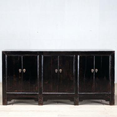 Chinese Sideboard with Six Doors and Restoration