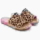 Daisy Sandal Leopard Haircalf