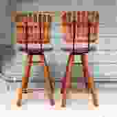 Pair of Umanoff Style Bar Stools