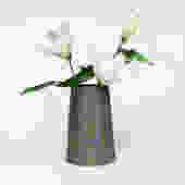 Dark Clay Pattern Ware Vase
