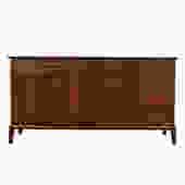 Mid Century Modern Walnut Long Dresser