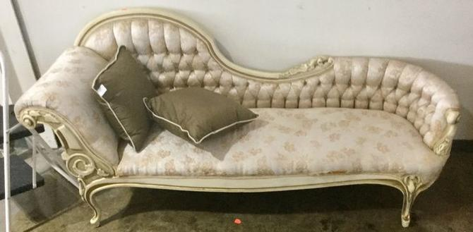 Elizabethan Style Couch available at Habitat for Humanity Restore Rockville for $350.00