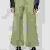 Green Overdyed Highwaist Pant