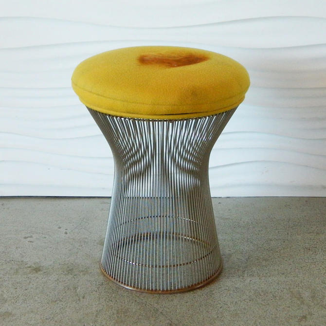 Brilliant Ha C8301 Warren Platner Stool From Home Anthology Of Andrewgaddart Wooden Chair Designs For Living Room Andrewgaddartcom