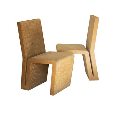 Easy Edges Cardboard Chair by Frank Gehry, Early 1970s