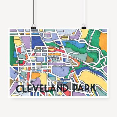 Cleveland Park Print