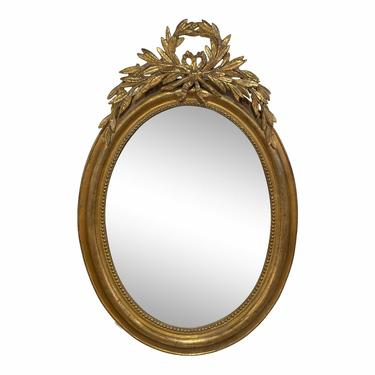 French Oval Louis Philippe Mirror