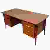 Svend Madsen Compact Danish Teak Designer Desk