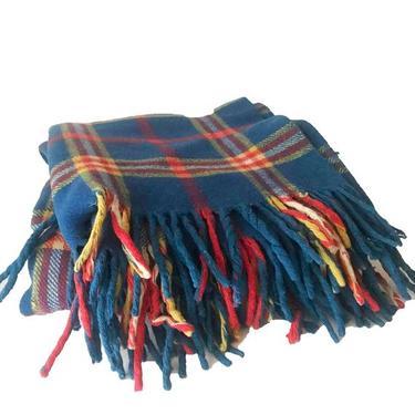 Wool Plaid Blanket