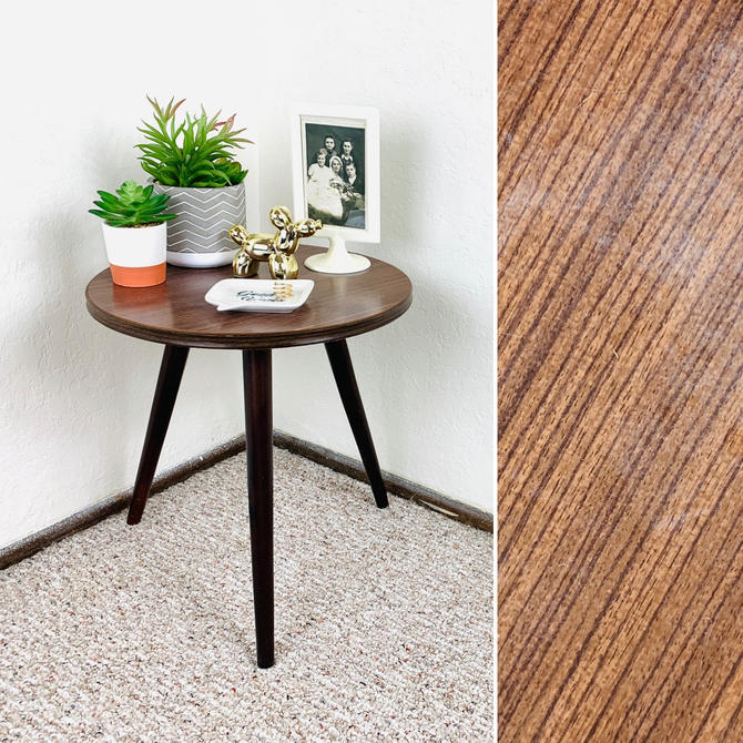 Mid Century Formica Plant Stand by dadacat