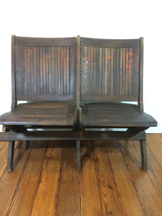 Vintage theater folding chairs by SouliDesign
