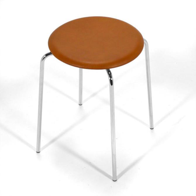 """Arne Jacobsen """"Dot"""" Stool"""
