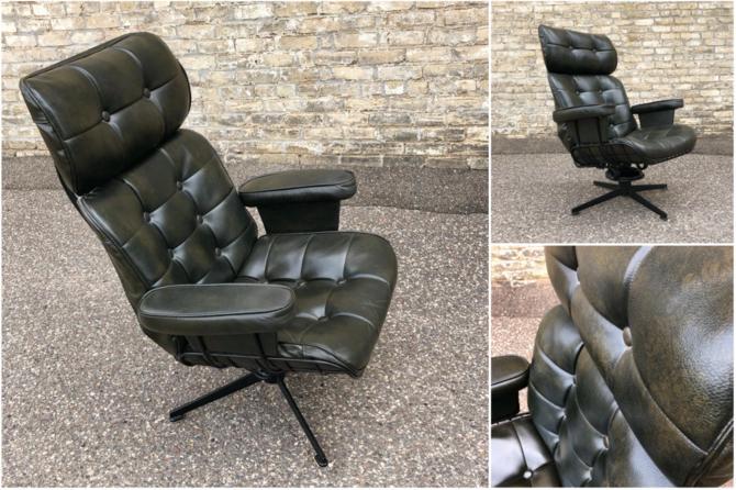Homecrest Swivel-recline Lounge Chair