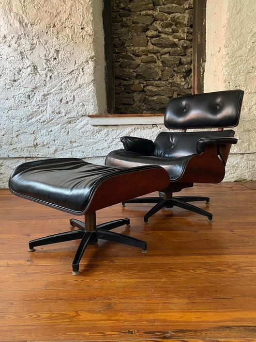 Mid century lounge chair Eames lounge chair plycraft lounge chair and ottoman by VintaDelphia