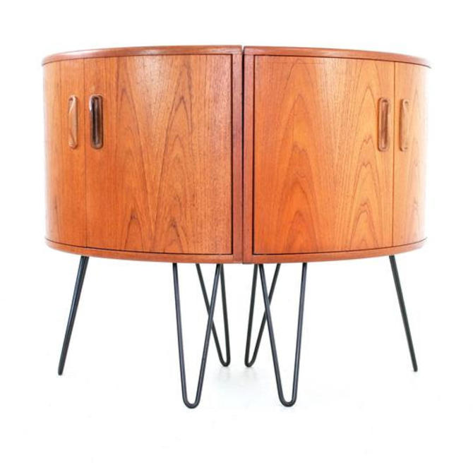 Mid Century Nightstands By V.B.WILKINS by SputnikFurnitureLLC