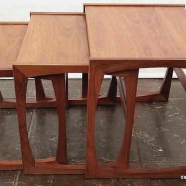 Nest Tables   Quadrille   R. Bennett for G-Plan   1967