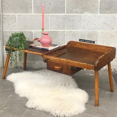 LOCAL PICKUP ONLY ———— Vintage Cobbler's Bench by RetrospectVintage215