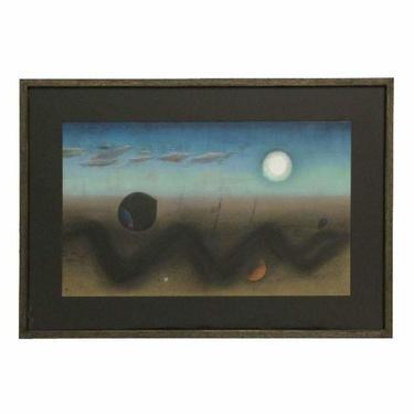 Surrealist Pastel Landscape