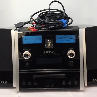 McIntosh MXA60 Stereo Integrated Audio System 60th Anniversary Transmitter CD
