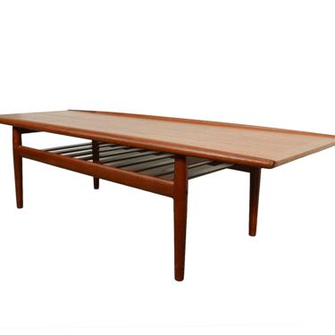 Teak Coffee Table by Grete Jalk for Glostrup Danish Modern by HearthsideHome