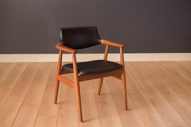 Vintage Danish Teak Armchair by Svend Aage Eriksen for Glostrup Mobelfabrik by MidcenturyMaddist