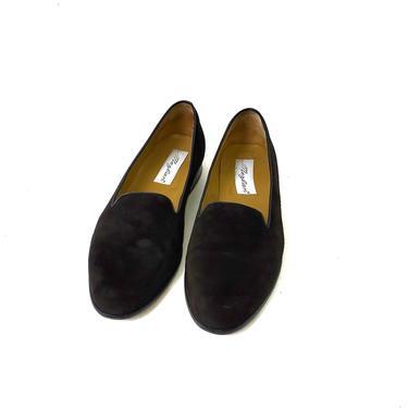 Mens Mezlan Black Suede Loafers Slip on 11.5 Shoes Dress Casual Driving Genuine by MakingMidCenturyMod