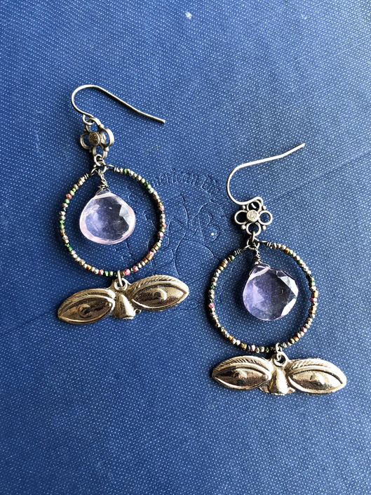 Milagro Assemblage Earrings by nonasuch