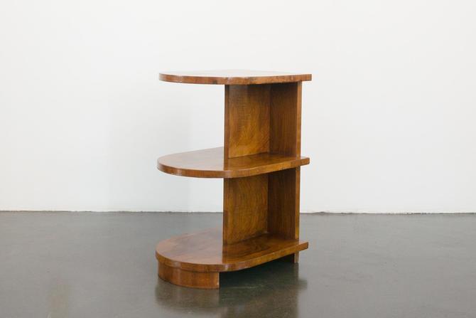 Burl Deco Shelf by HomesteadSeattle