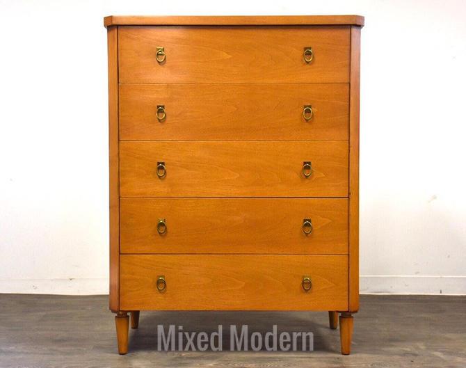 T.H. Robsjohn Gibbings for Widdicomb Mid Century Dresser by mixedmodern1
