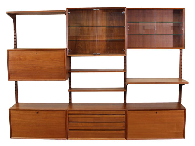 Mid Century Cado Shelving System Wall Unit by Cadovius by RetroPassion21
