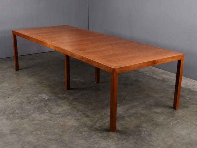 9.5ft Edward Wormley Parsons Dining Table for Dunbar Mid Century Modern by MadsenModern