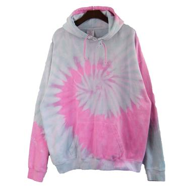 Pink Tie Dye Pullover Hoody