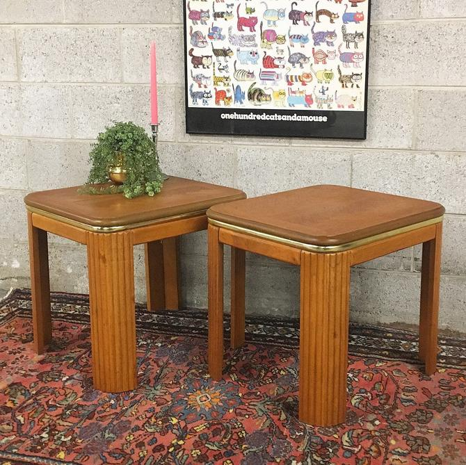 LOCAL PICKUP ONLY ———— Vintage End Tables by RetrospectVintage215