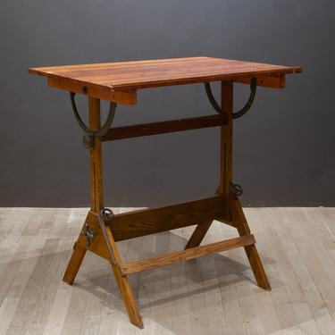 Antique Drafting Table/Dining Table/Desk c.1930