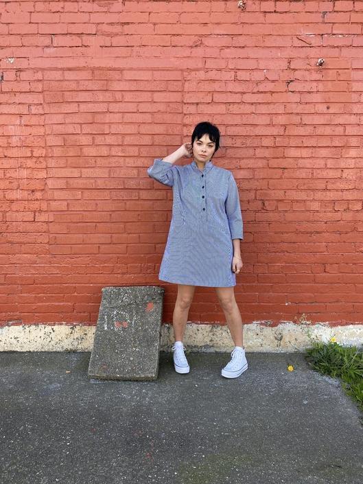 Nico Railroad Shirt Dress