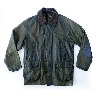 BARBOUR BEDALE GREEN WAXED JACKET