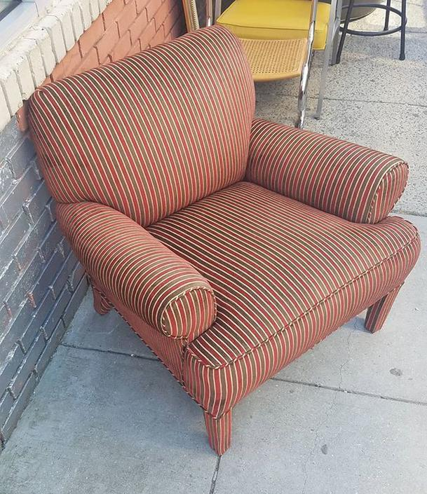 Overstuffed Club Chair, one of 2. $139 each.