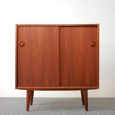 Scandinavian Teak Cabinet - (319-051) by ByDesignModern
