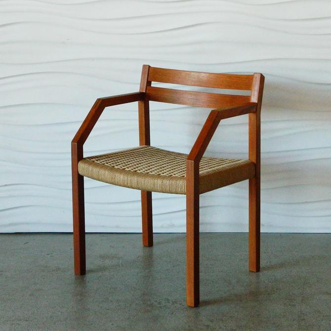 HA-C8196 Teak Moller Roped Chair Model 404