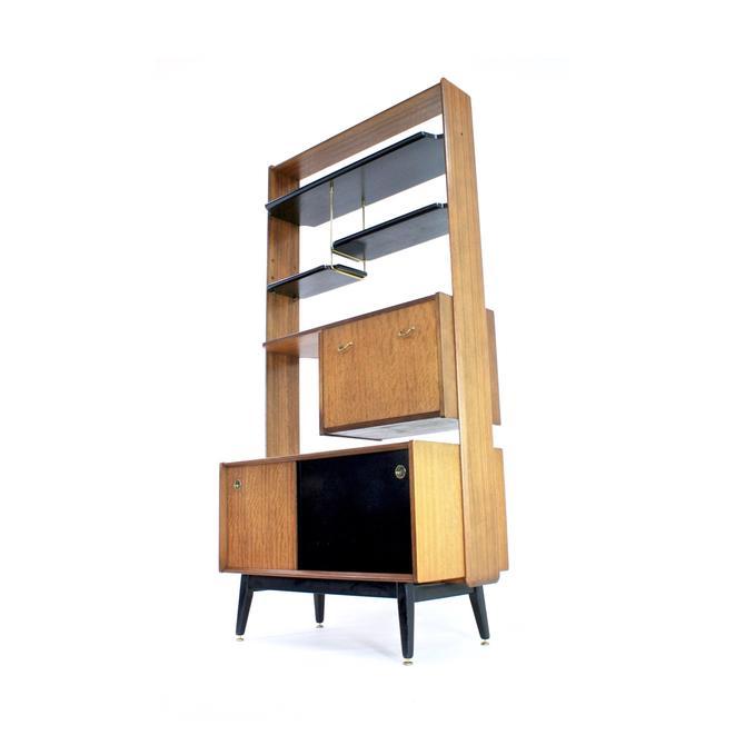 Mid Century Librenza Display Cabinet/ Room Divider by E Gomme Ltd by SputnikFurnitureLLC